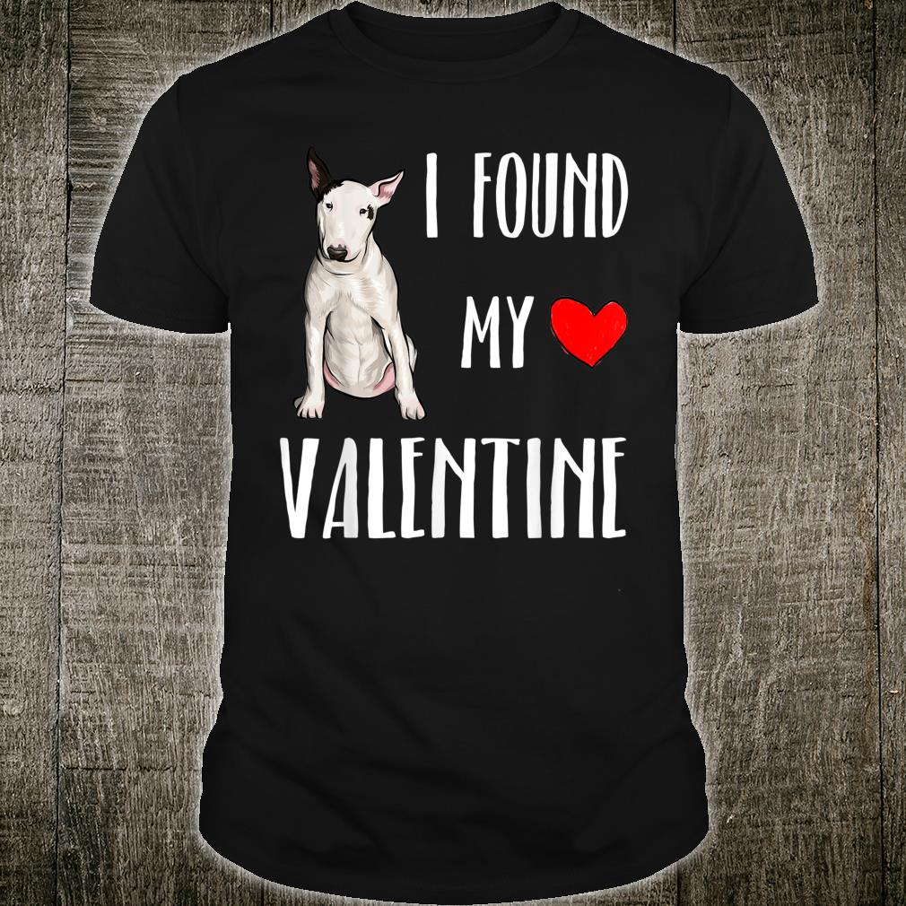 Bullterrier Mein Valentin Valentinstag Shirt