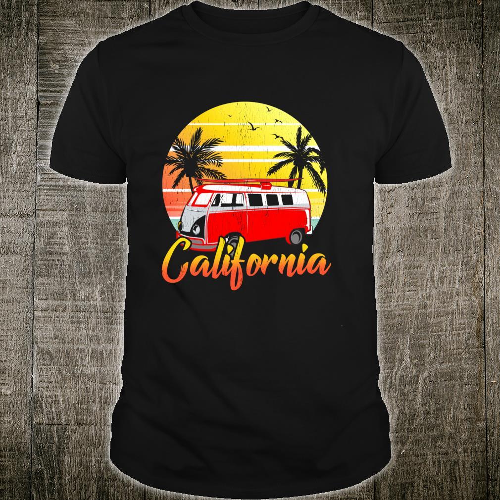 California Hippie Van Surf Shirt