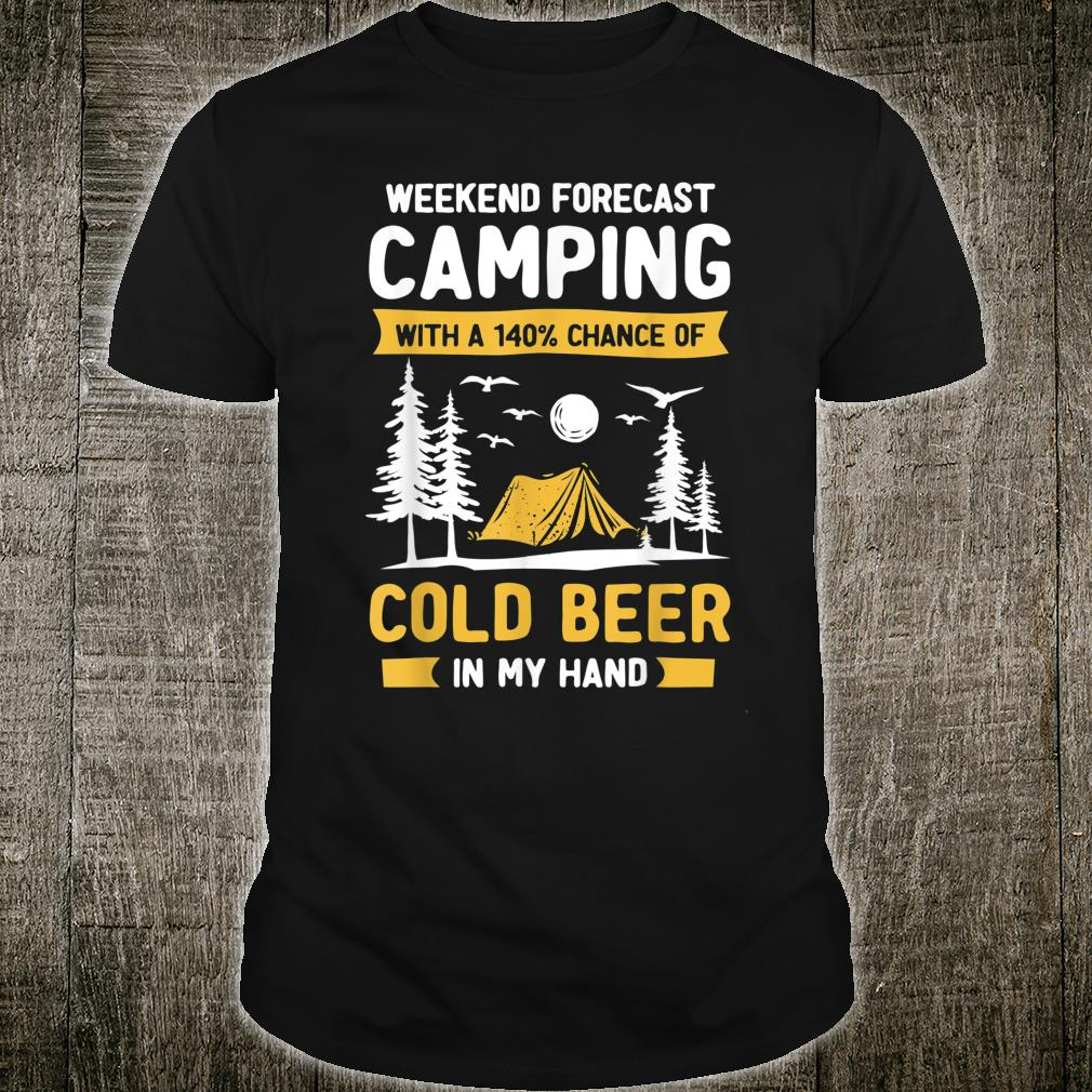 Camping Shirt Camper RV Vacation Camping BeerLover Shirt