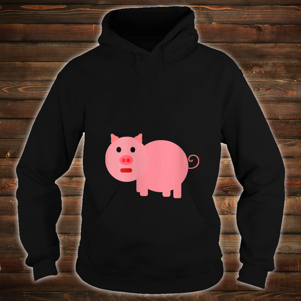 Cartoon Pig Shirt hoodie