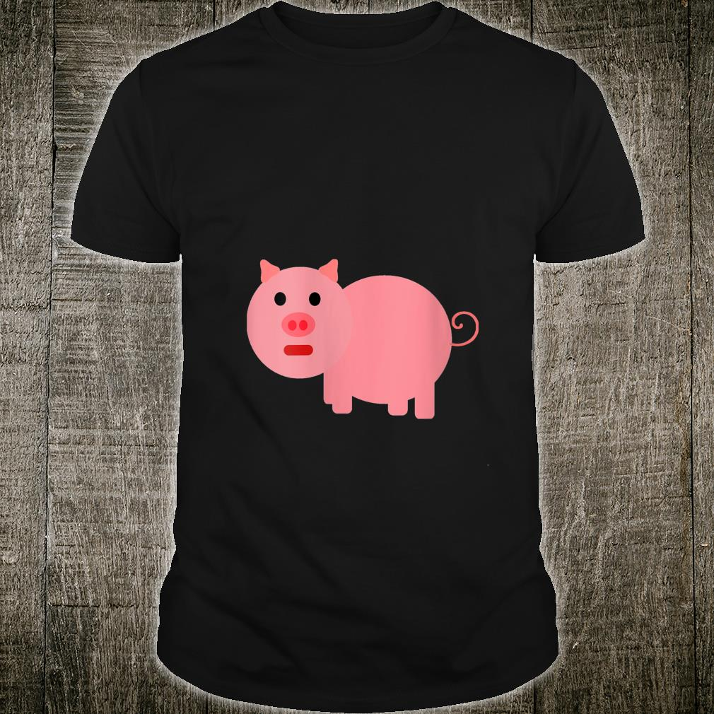 Cartoon Pig Shirt