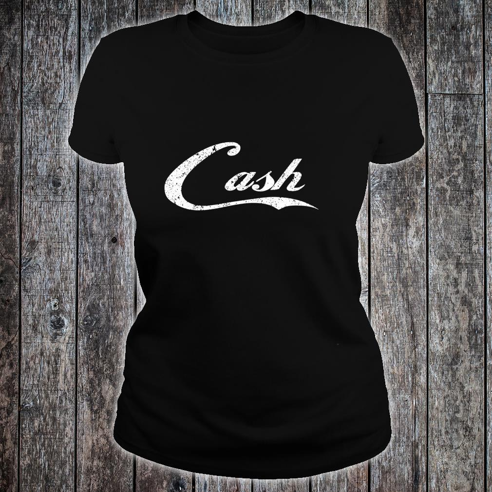 Cash Money distressed for the bar concert or street Shirt ladies tee