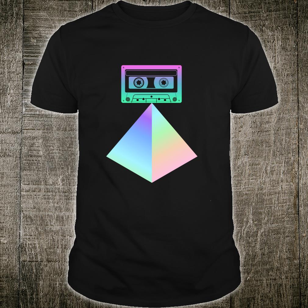 Cassette Tape 80s 90s Synthwave Otaku Aesthetic Vaporwave LongSleeved Shirt