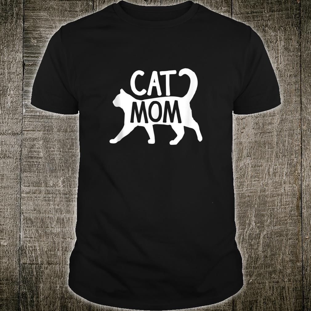 Cat Mom Retro Vintage Colorful Pet Owner Purr Meow Toy Shirt