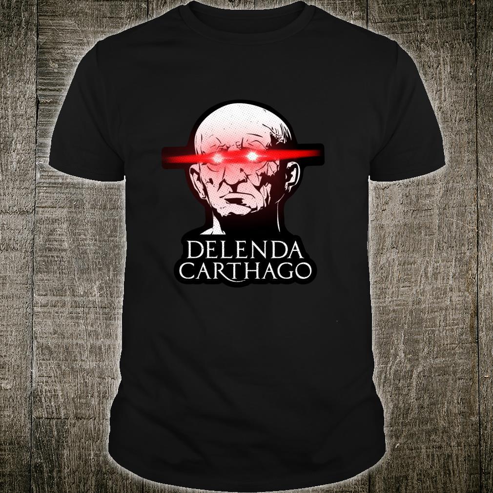 Cato The Elder Meme Shirt