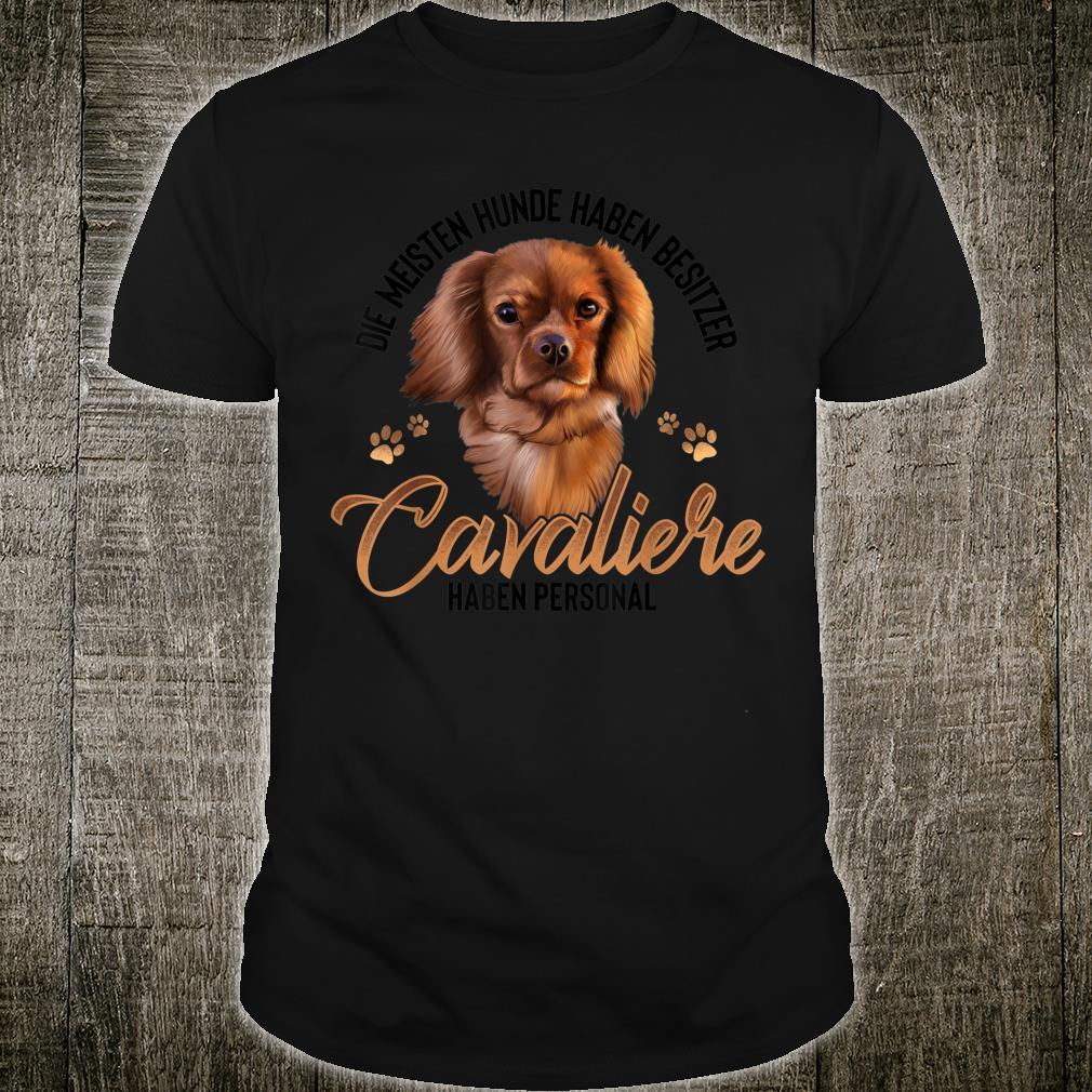 Cavalier King Charles Spaniel Hund Geschenke Shirt