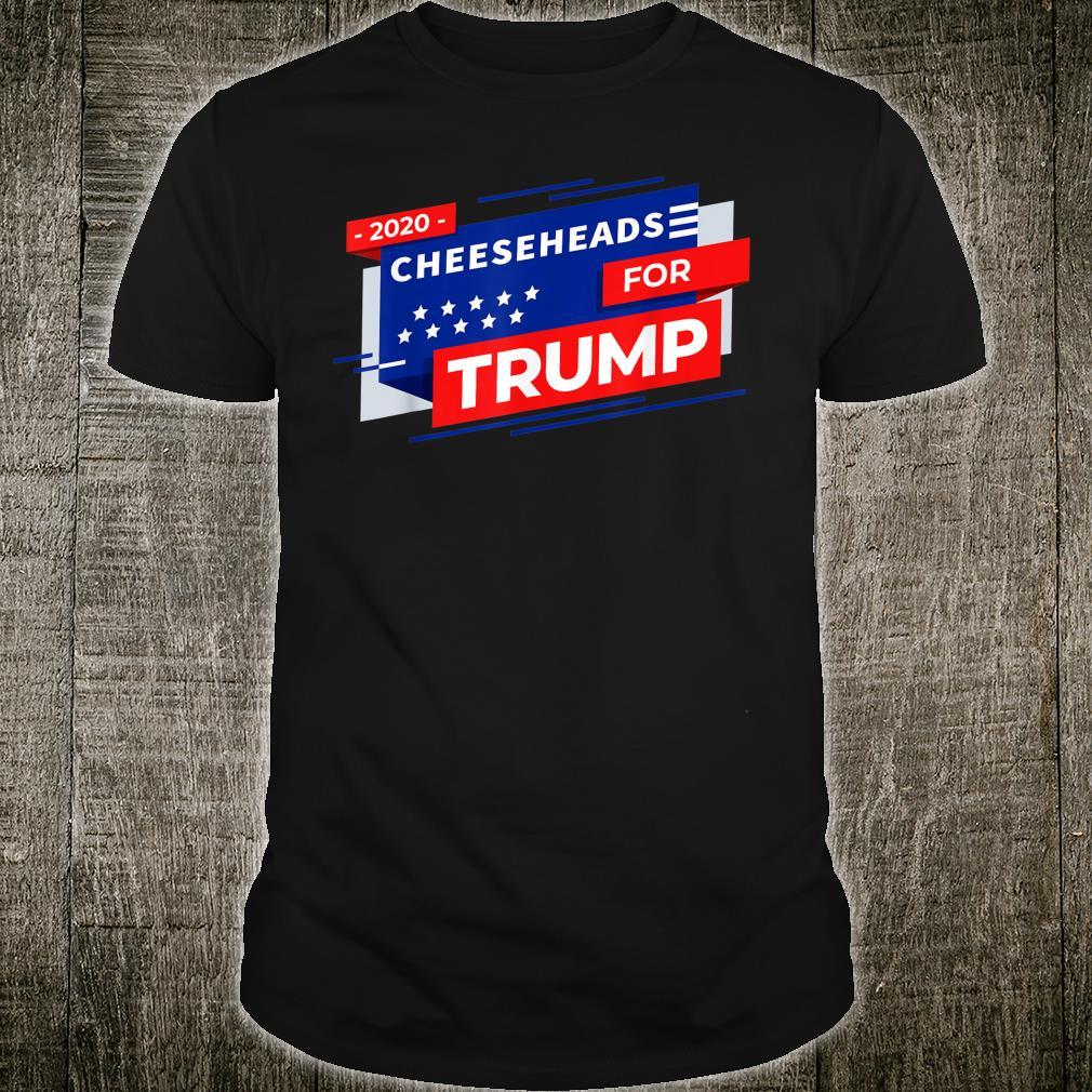 Cheeseheads For Trump 2020 Pro Trump Maga Republican Shirt