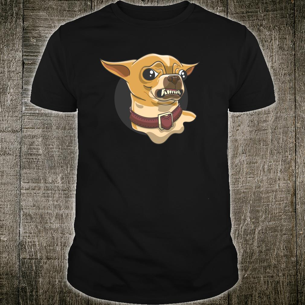 Chihuahua Dog Dad Puppy Mom Fur Baby Pet Owner Shirt