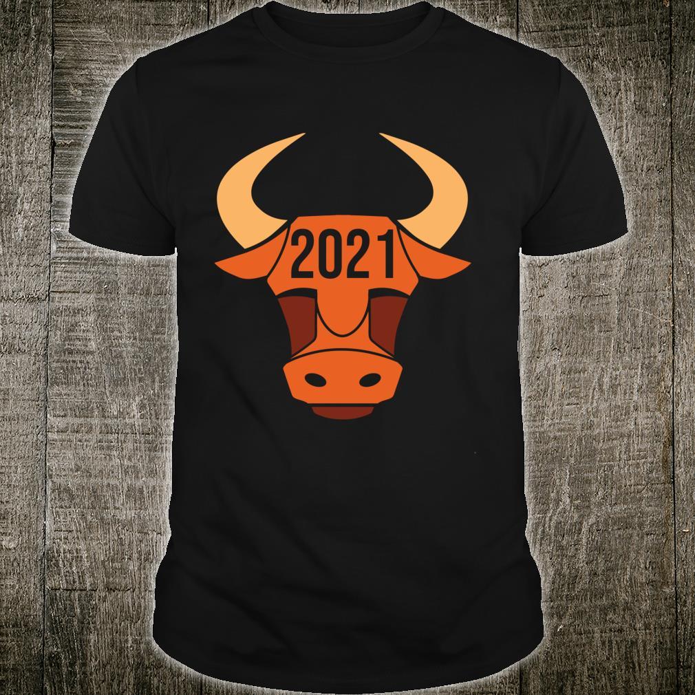 Chinese Bull New Year Of Ox 2021, Retro New Years Horoscope Shirt