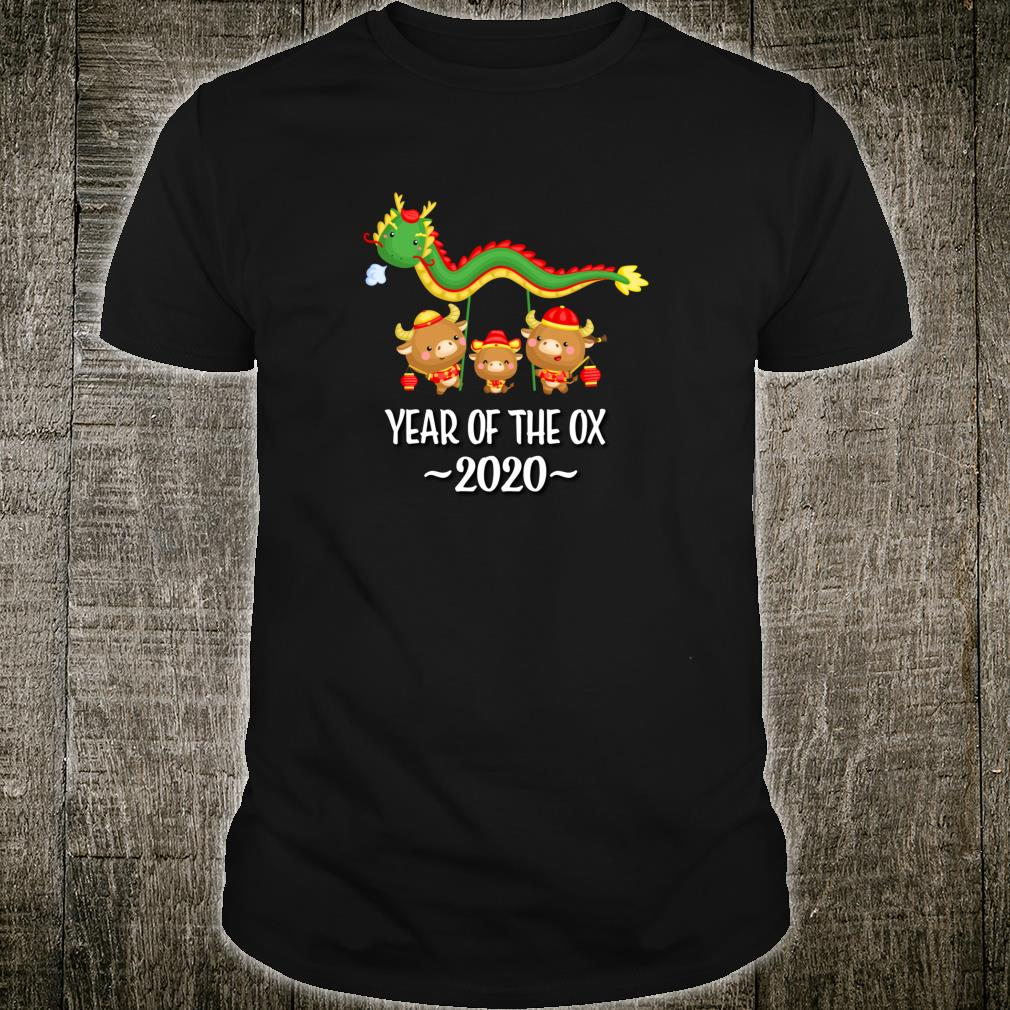 Chinese New Year Of The Ox 2021 Shirt