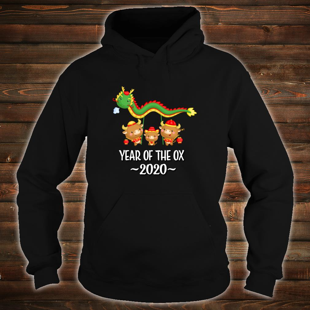 Chinese New Year Of The Ox 2021 Shirt hoodie