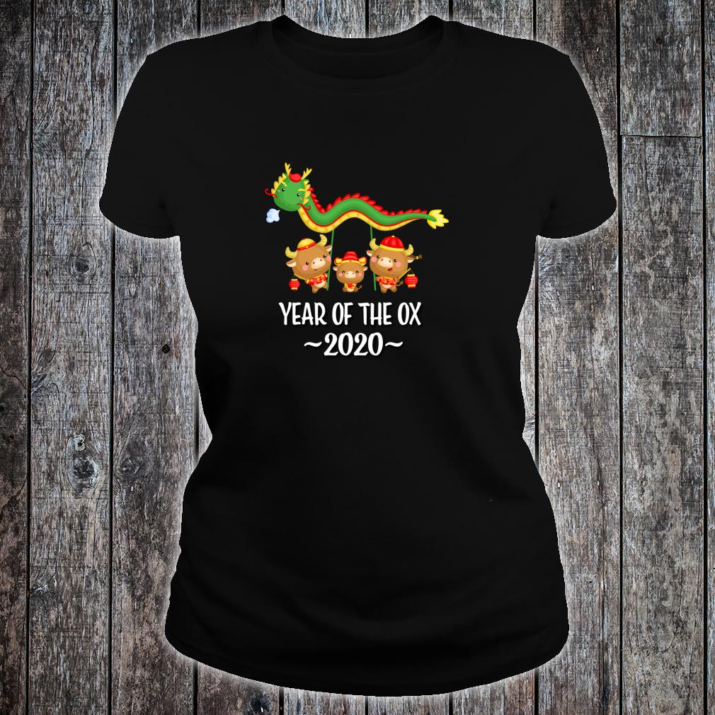 Chinese New Year Of The Ox 2021 Shirt ladies tee