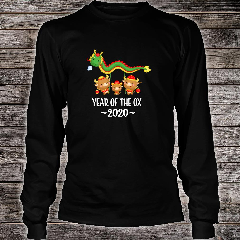 Chinese New Year Of The Ox 2021 Shirt long sleeved