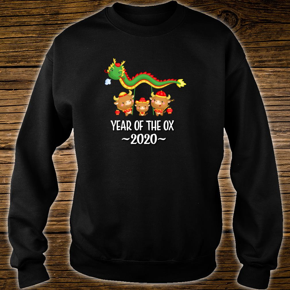 Chinese New Year Of The Ox 2021 Shirt sweater