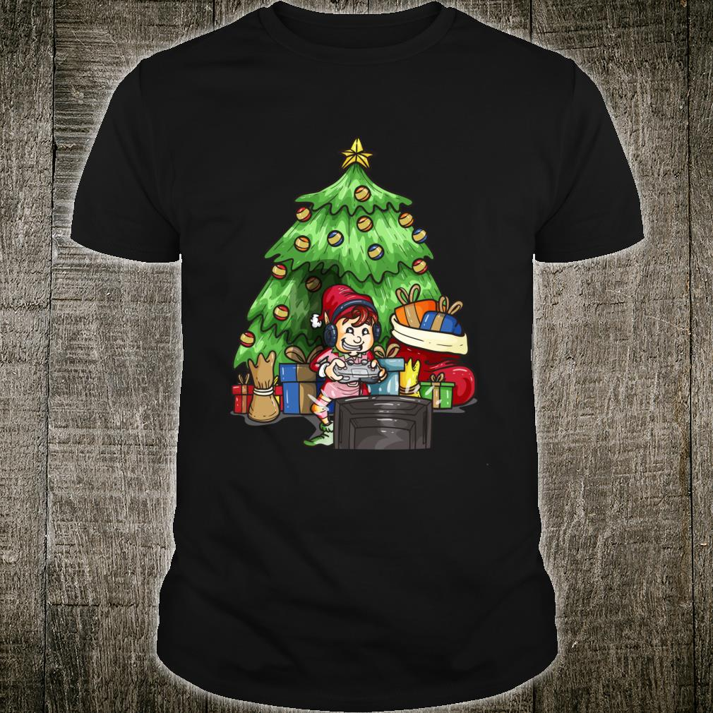 Christmas Gamer Shirt Christmas Gamer Elf Shirt