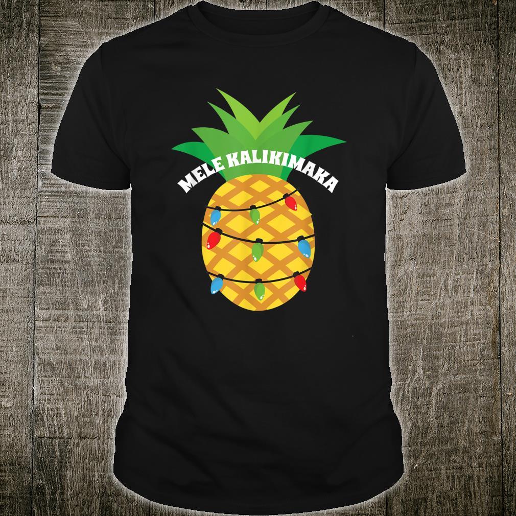 Christmas Inspired Design for Hawaiis Shirt