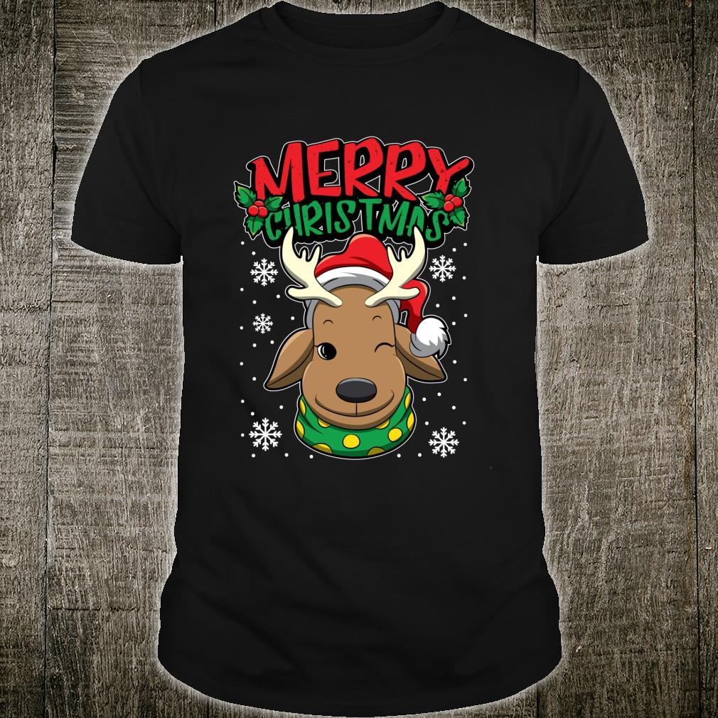 Christmas Reindeer Sweet Christmas Animals Shirt
