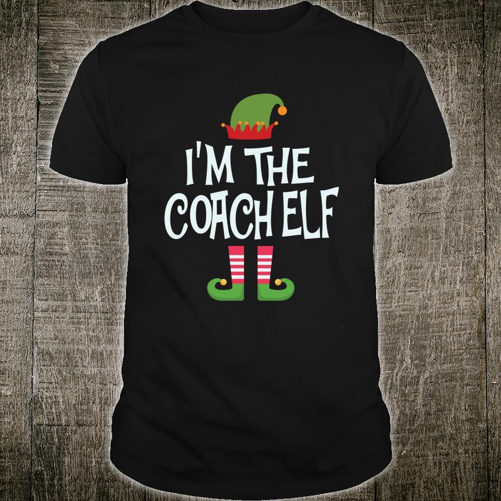 Coach elf Christmas Matching Outfit Shirt