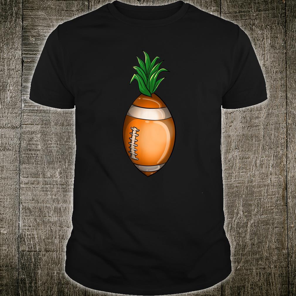 Cool Football Pineapple Kick Ball Fan Athlete Shirt