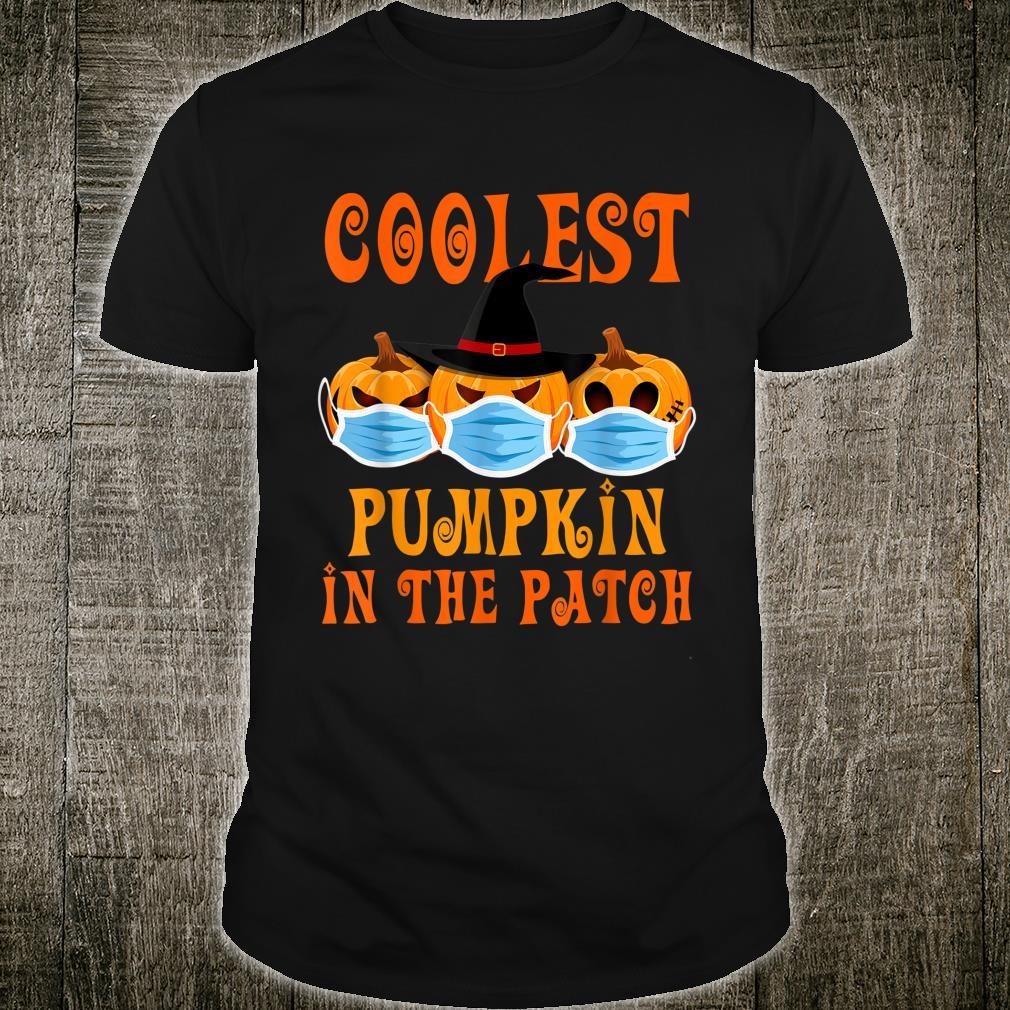 Coolest Pumpkin In The Patch Quarantine Halloween Costume Shirt