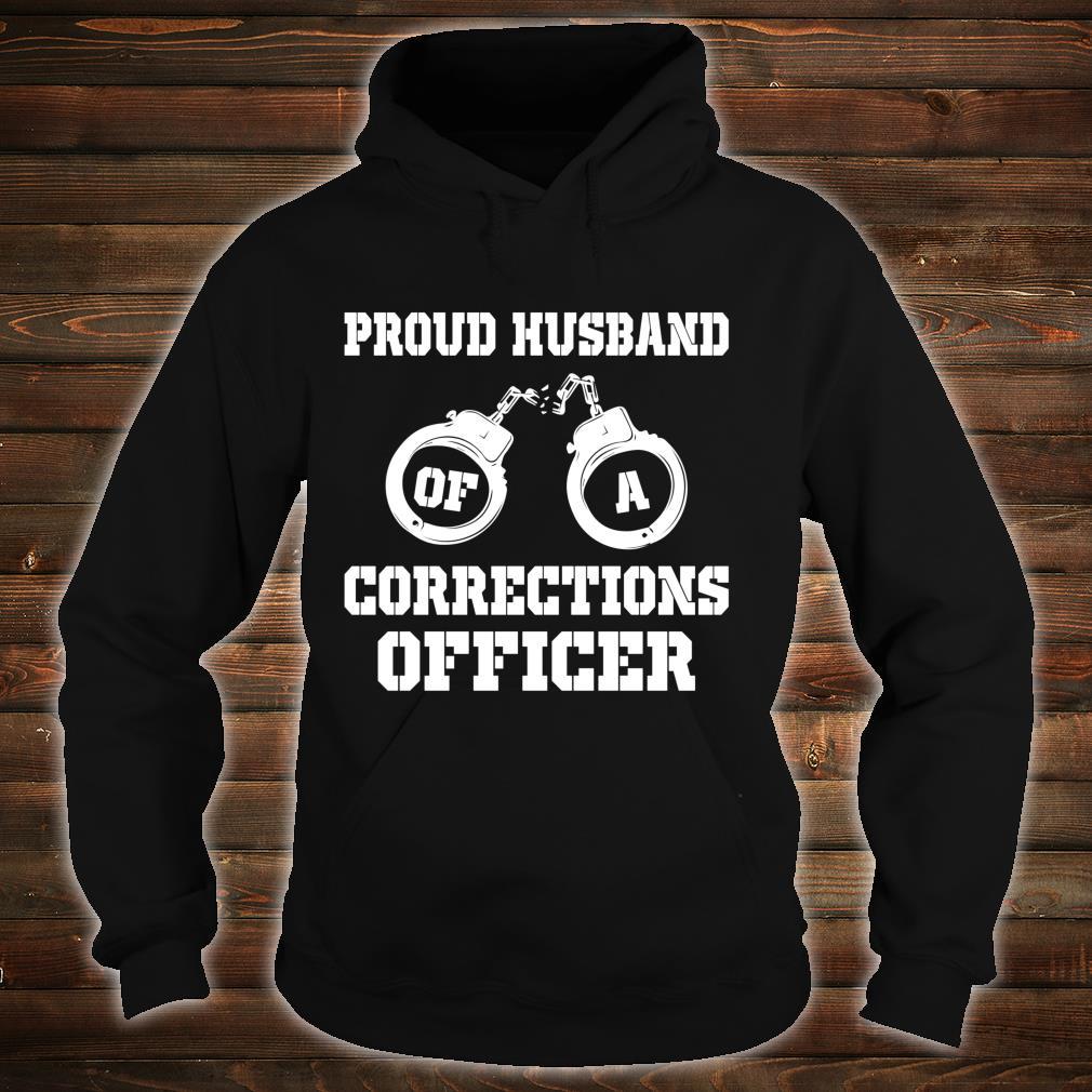 Corrections Officer Husband Proud Husband Shirt hoodie