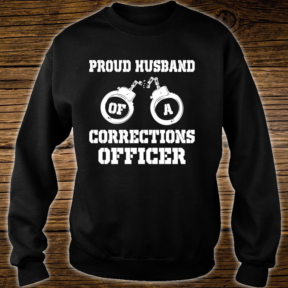 Corrections Officer Husband Proud Husband Shirt sweater