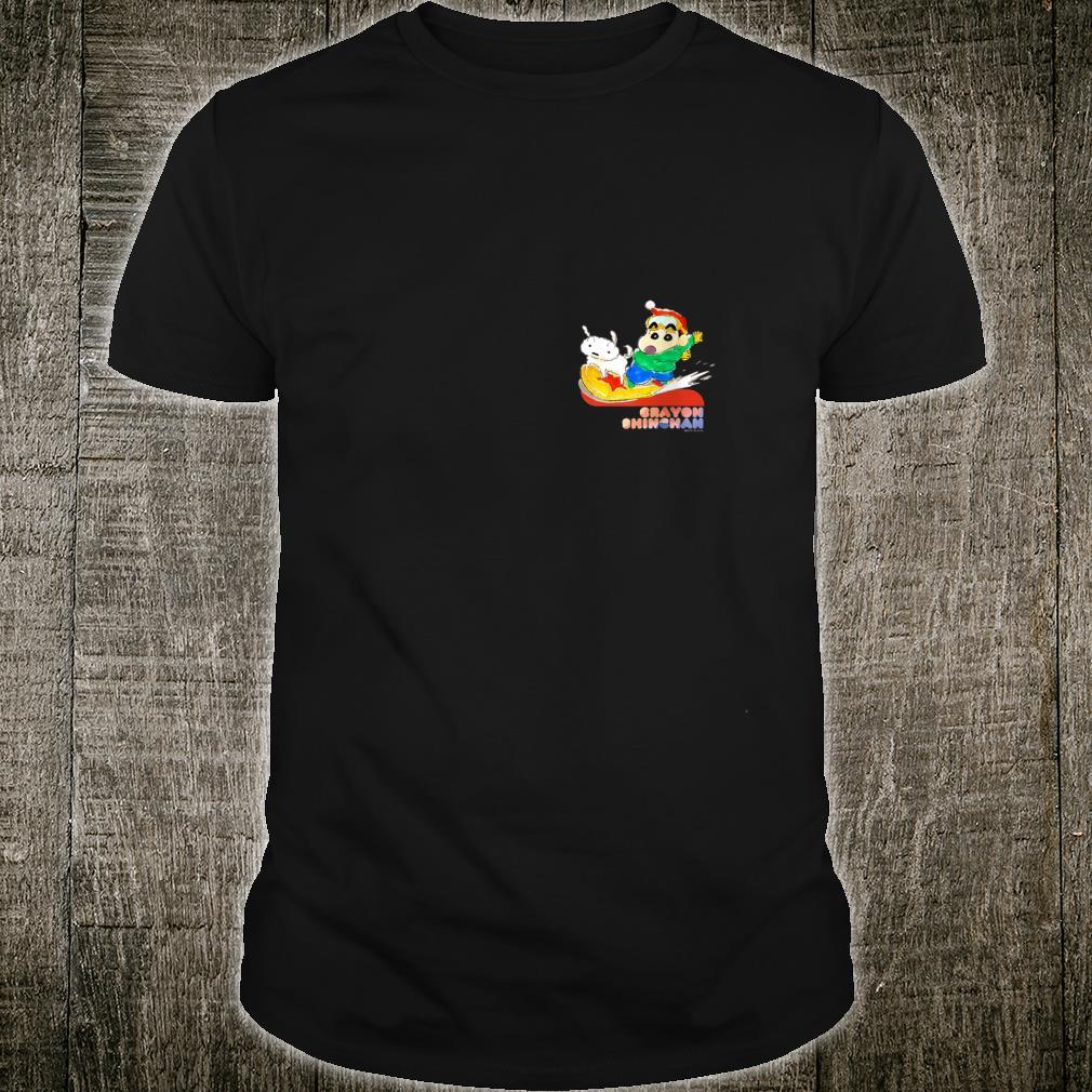 Crayon Shinchan Snow Board Shirt