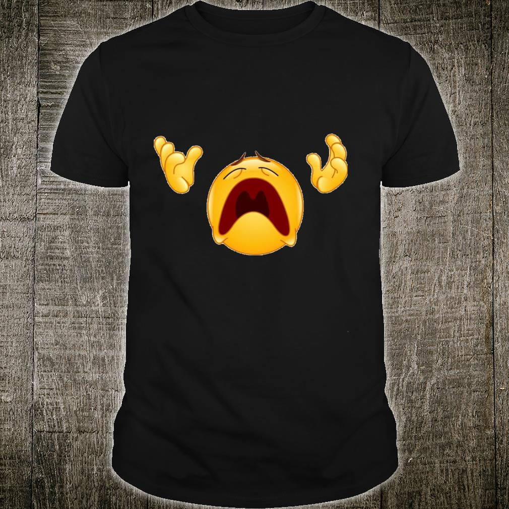 Crying Why Me Face Shirt