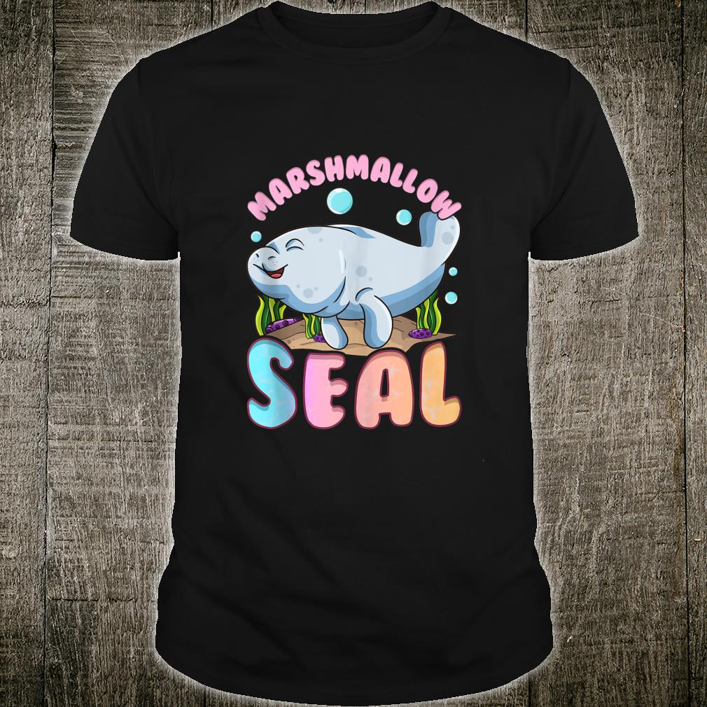 Cute & Manatees The Marshmallow Seal of the Ocean Shirt