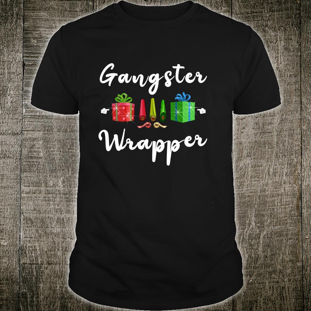 Cute Christmas Presents Gangster Wrapper Shirt