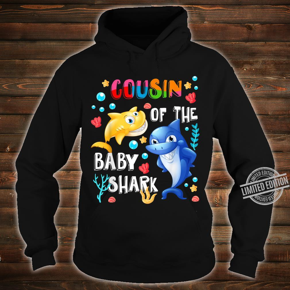 Cute Cousin Of The Baby Shark Cousin Shirt hoodie