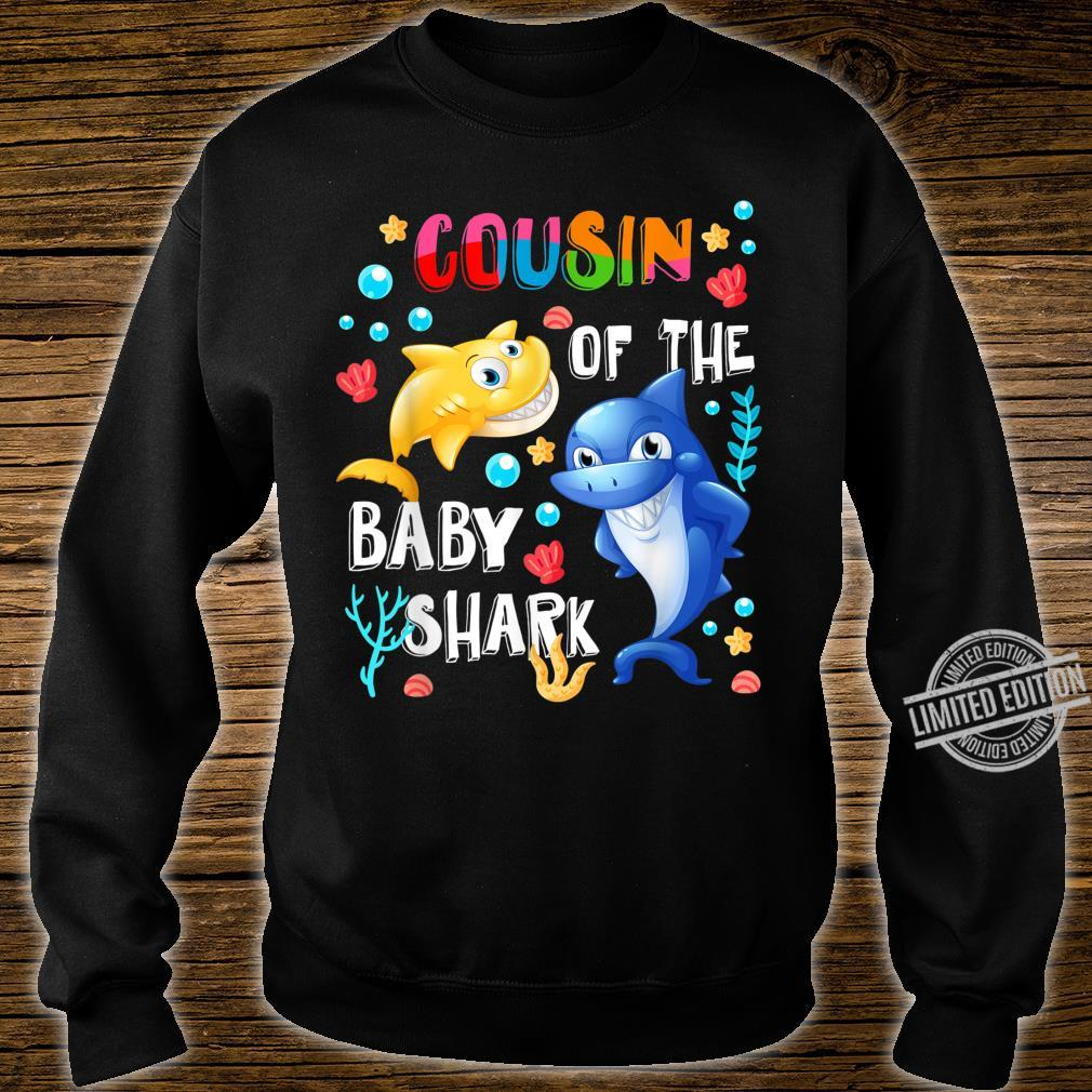 Cute Cousin Of The Baby Shark Cousin Shirt sweater