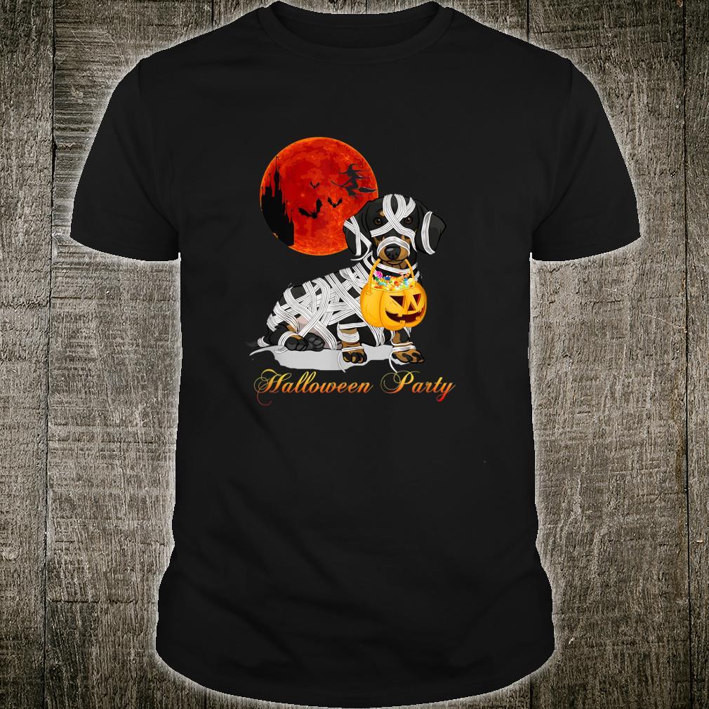 Cute Dachshund Love Halloween Shirt