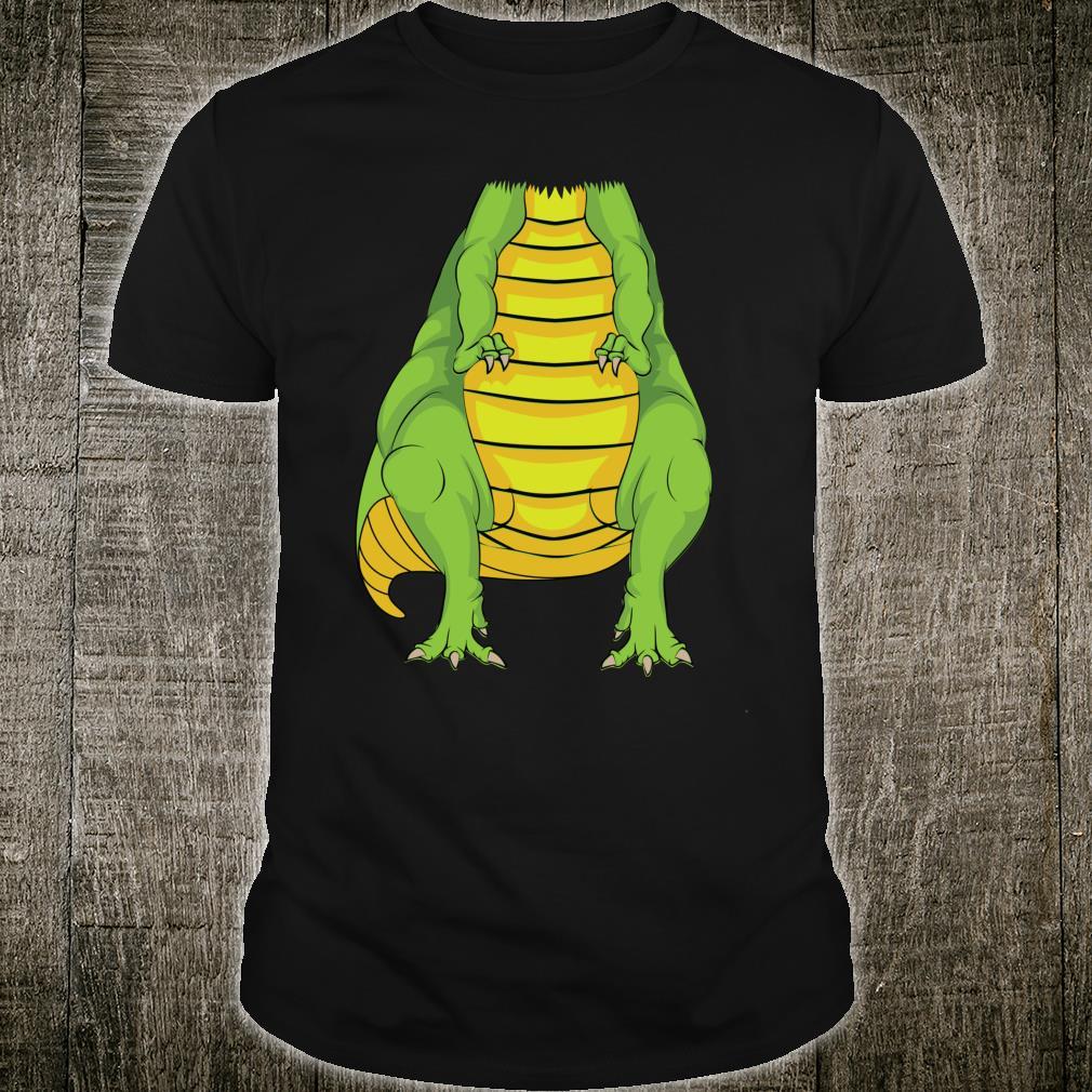 Cute Headless Dinosaur Costume Halloween Animal Shirt