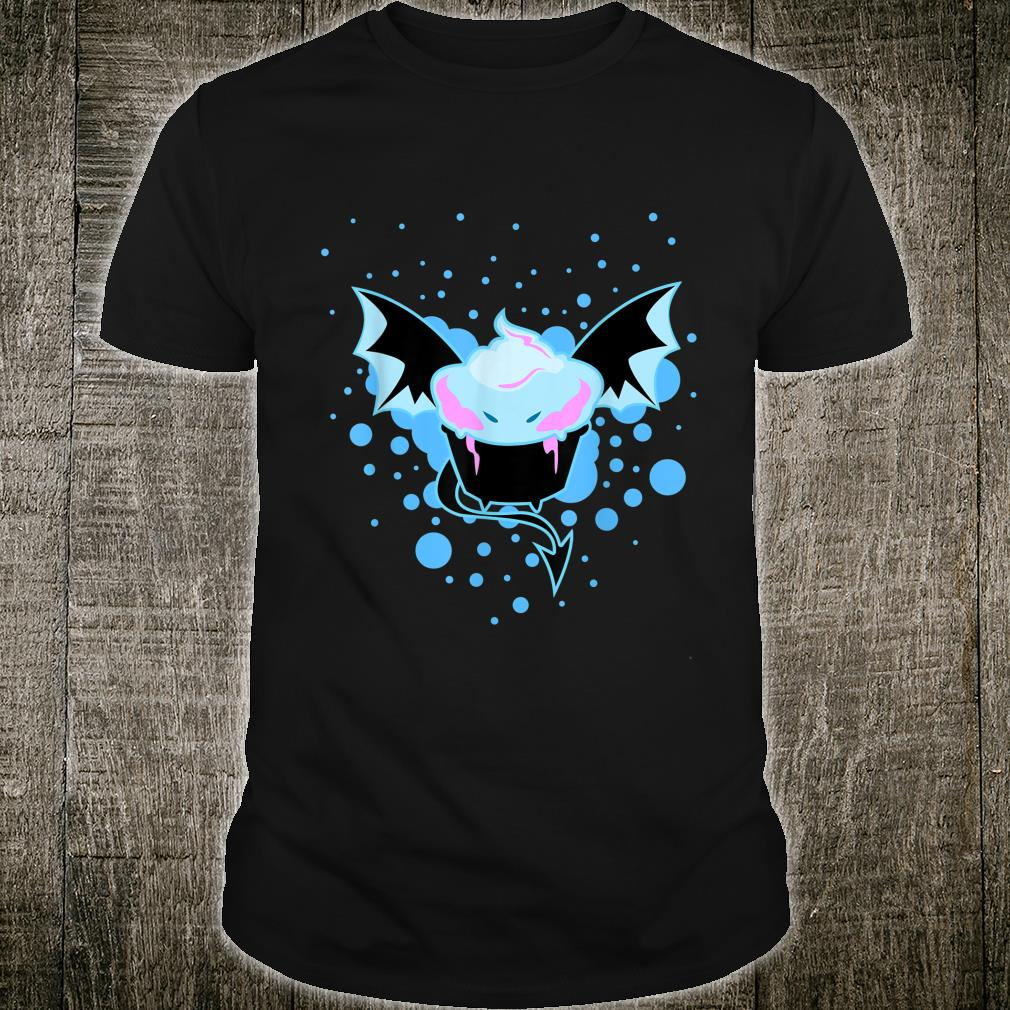 Cute Ice Cream Bat Monster Halloween Novelty Costume Shirt