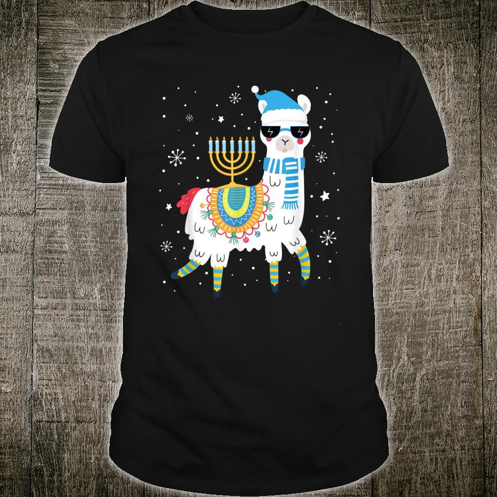 Cute Llama Withorah Hanukkah Alpaca Chanukah Shirt