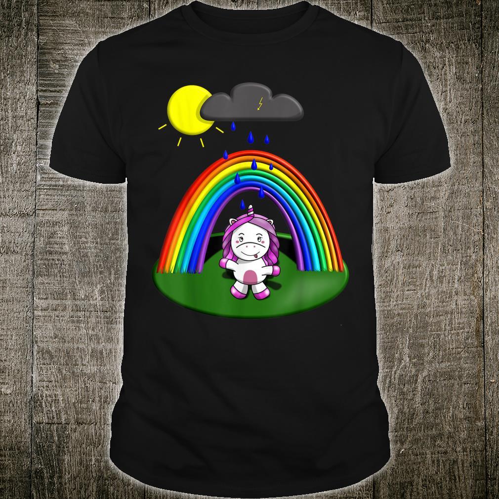 Cute UNICORN with Rainbow perfect for unicorn girls Shirt
