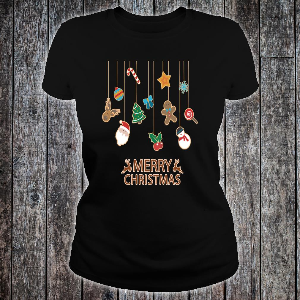 Cute and Fun, Merry Christmas, Festive Season, Stylish Shirt ladies tee