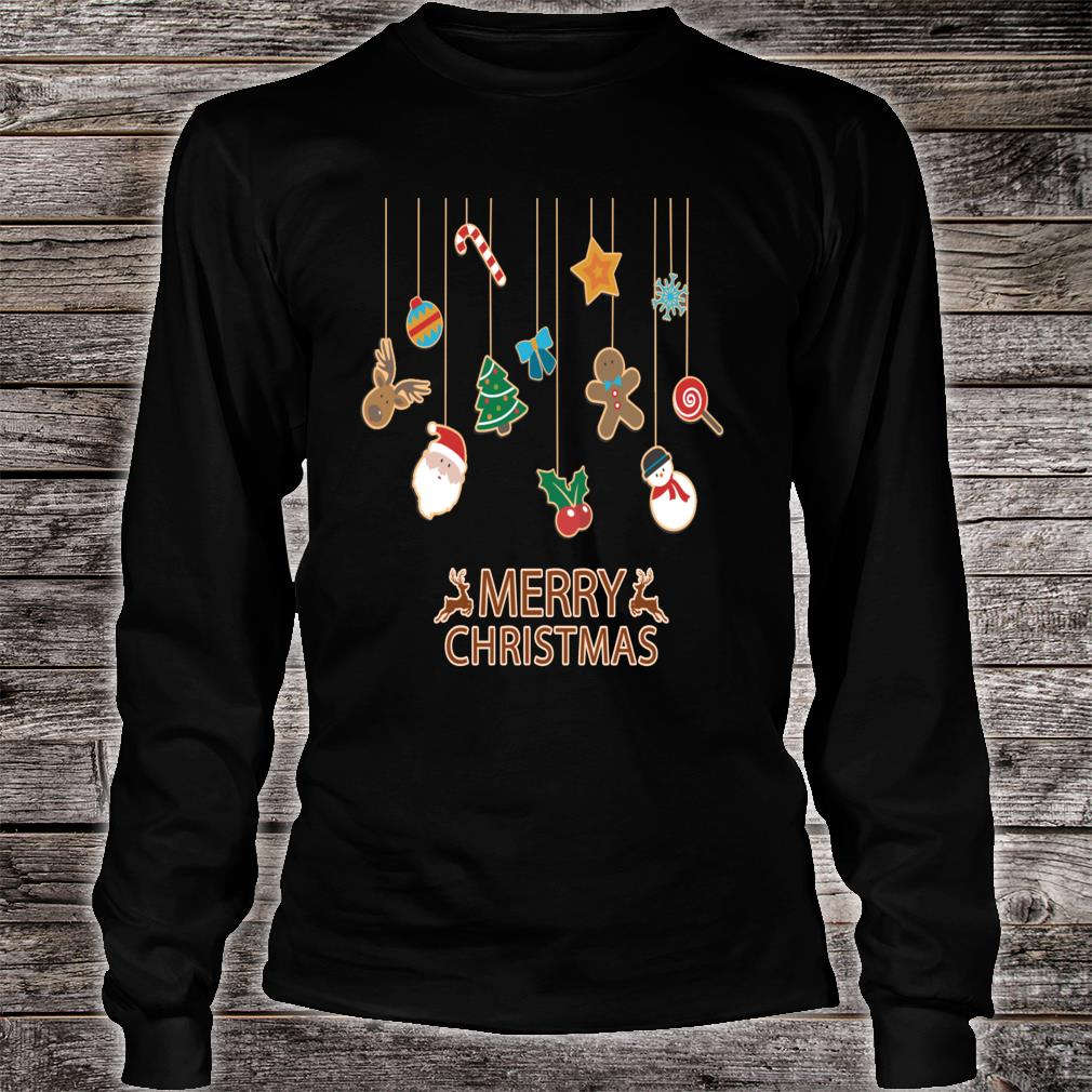 Cute and Fun, Merry Christmas, Festive Season, Stylish Shirt long sleeved
