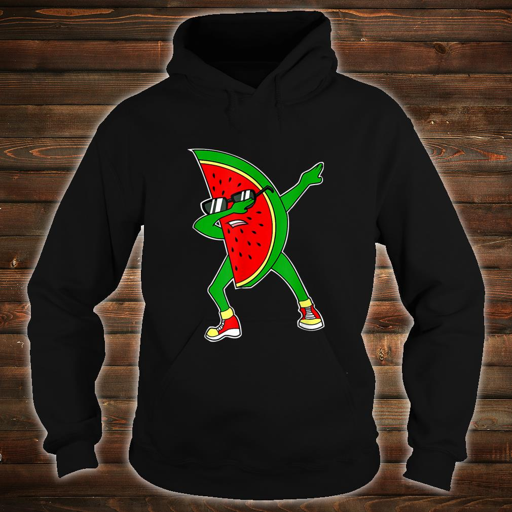 Dabbing Watermelon Kawaii Dab Summer Fruit Melon Shirt hoodie