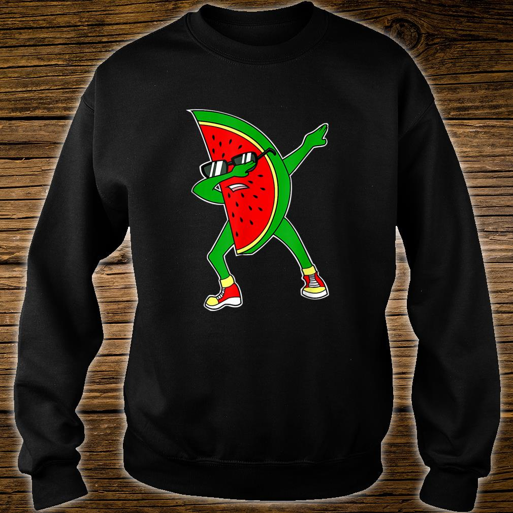 Dabbing Watermelon Kawaii Dab Summer Fruit Melon Shirt sweater