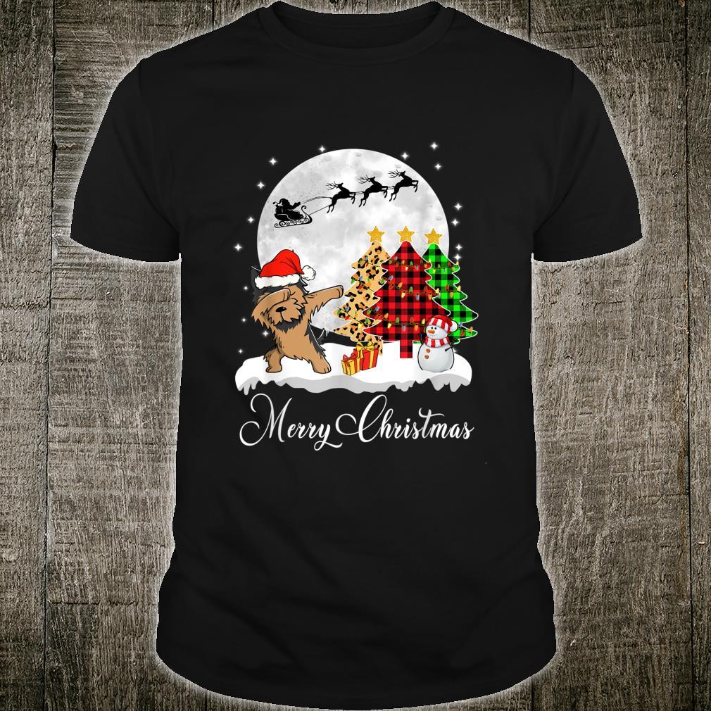 Dabbing Yorkshire Terriers Dab Dog Christmas Tree Xmas Shirt
