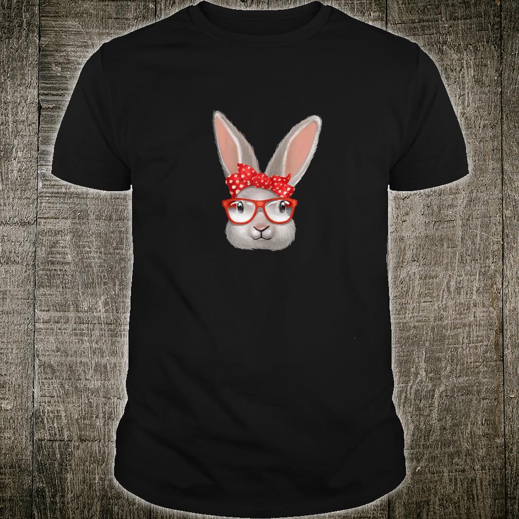 Damen Hasen retro Design süßes vintage Kaninchen Häschen Shirt