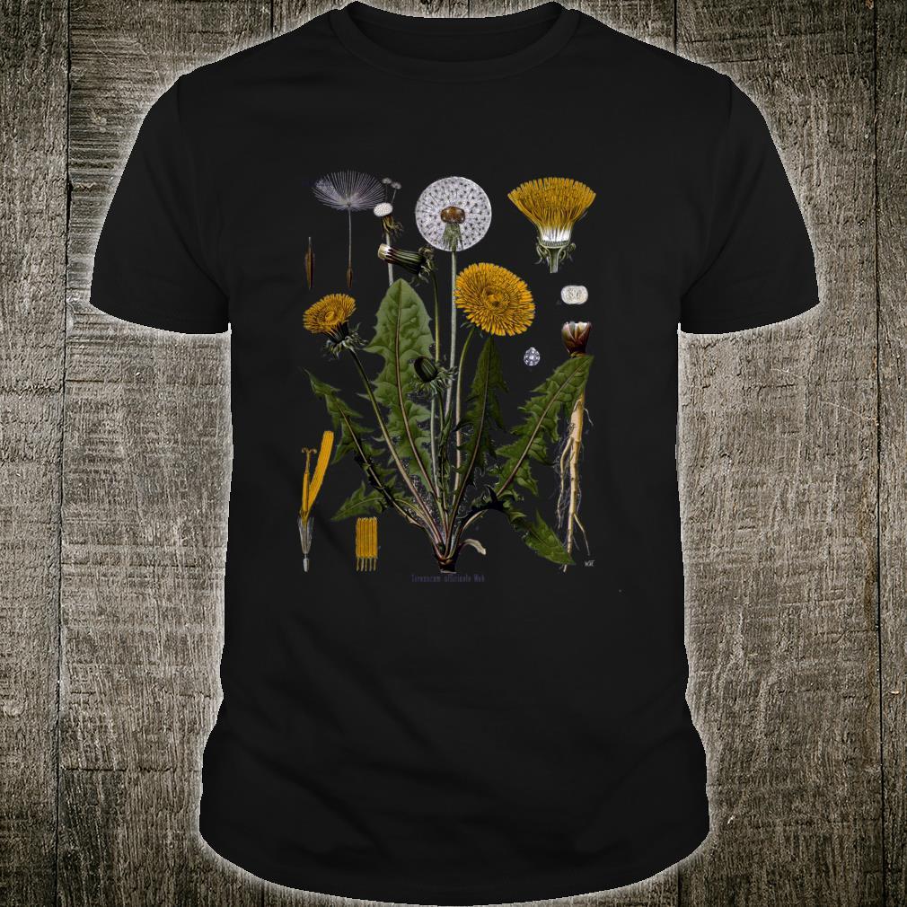 Dandelion Botanical Shirt