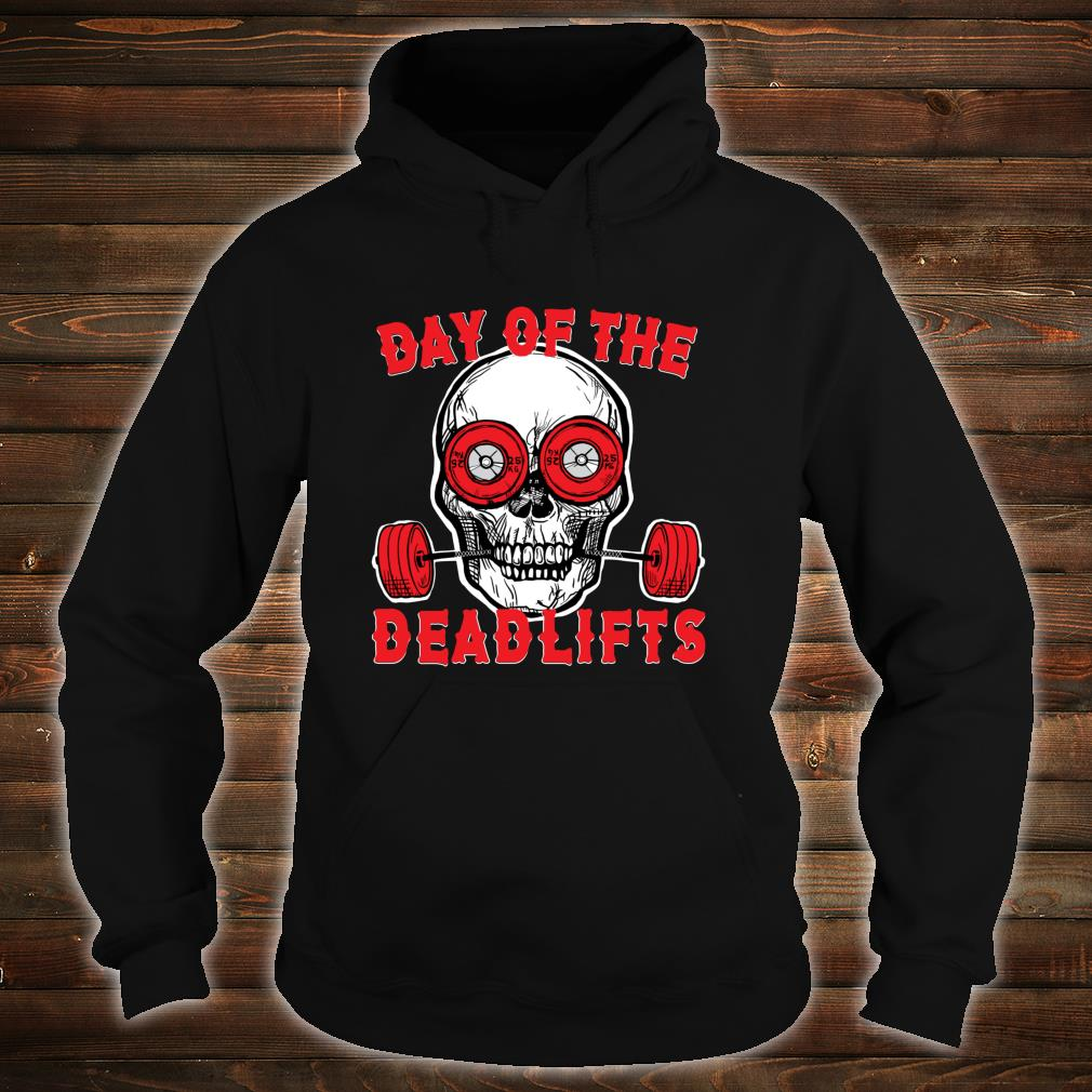 Deadlift Skull Weightlifting Powerlifting gym Shirt hoodie