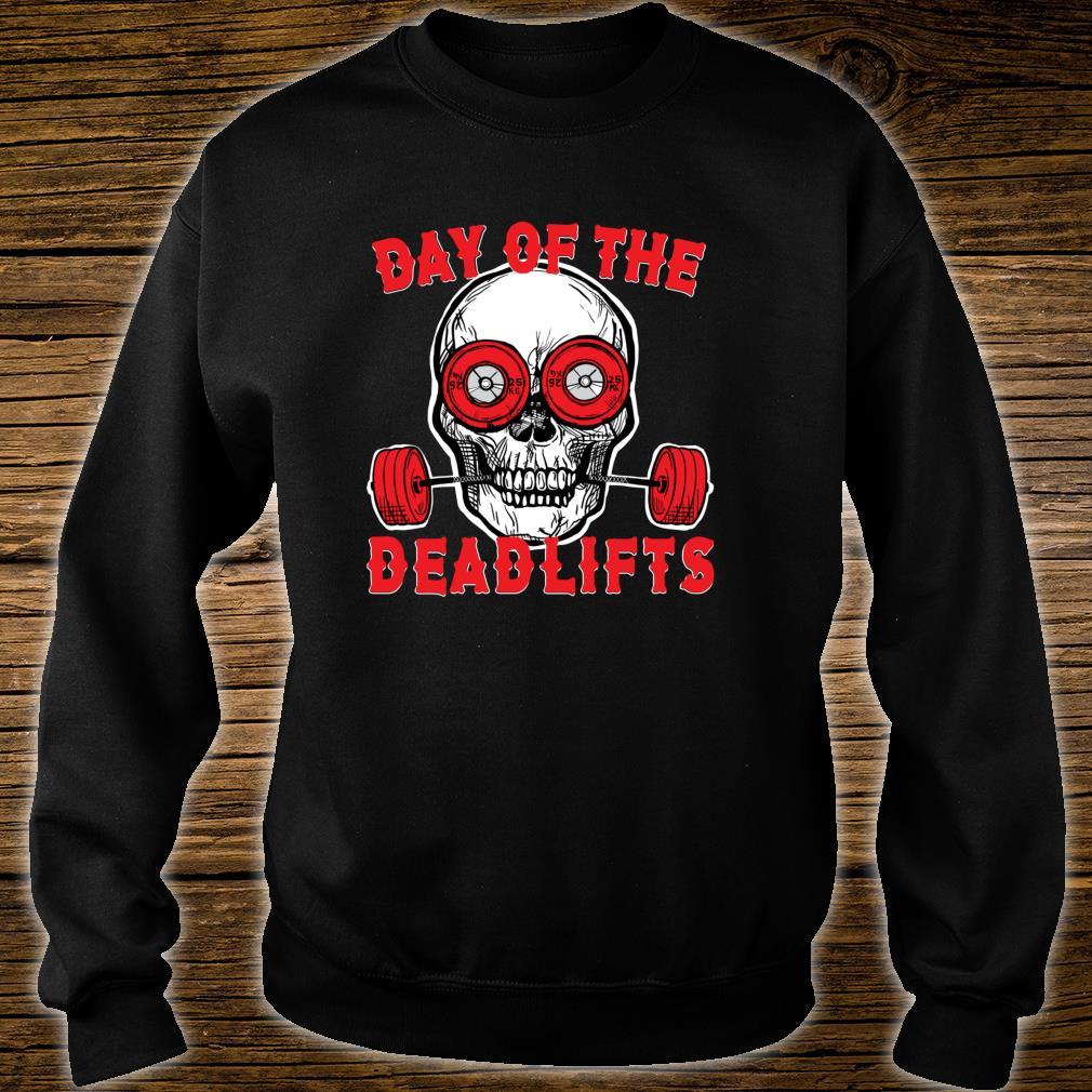Deadlift Skull Weightlifting Powerlifting gym Shirt sweater