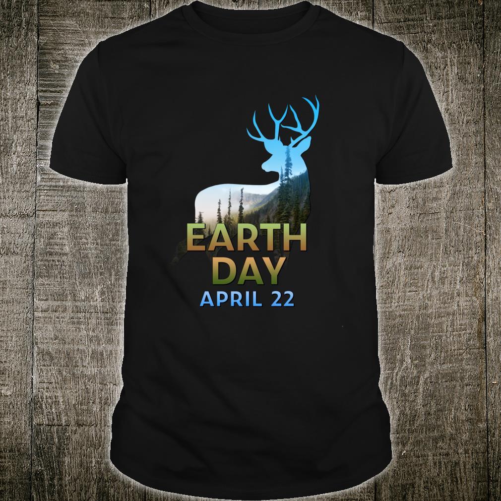 Deers Earth Day April 22 Environmental Shirt