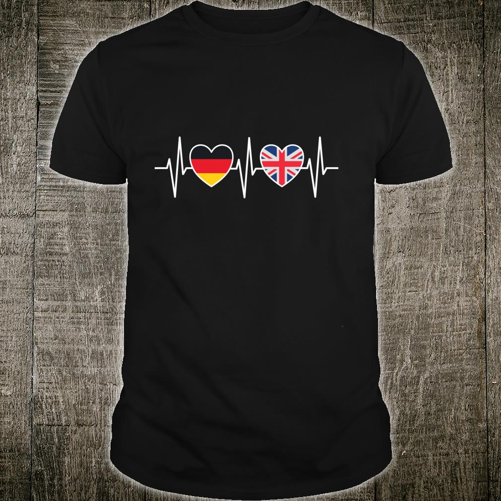 Deutschland und Großbritannien Königreich UK Fahne Flaggen Shirt