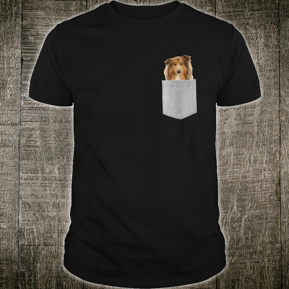 Dog in Your Pocket Collies Shirt