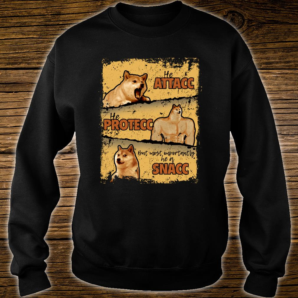 Doge vs. Cheems Memes Shiba Inu Shirt sweater